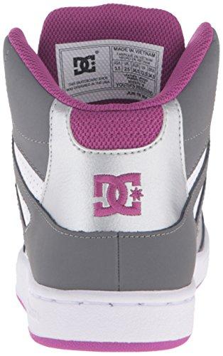 DCREBOUND rebound Purple ragazze Grey rebound bambini Unisex DCREBOUND Light ragazzo qvwqUg6d
