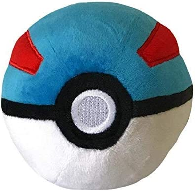 lively moments LM 97343 Pokémon Pokemon Pelota de Peluche: Amazon ...