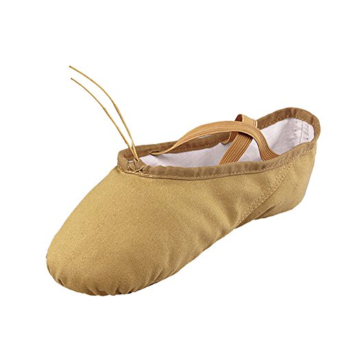 Größe Schuhe Kid braun üben Little lisianthus002 Ballett Classic EU nbsp;Little Braun 32 Mädchen vvqXB