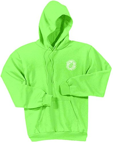 Koloa Hawaiian Turtle Logo Hoodies-Hooded Sweatshirt-Neon.Green-S