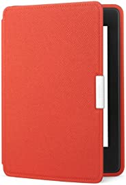 Amazon Kindle Paperwhite Leather Case, Persimmon - fits all Paperwhite generations prior to 2018 (Will not fit