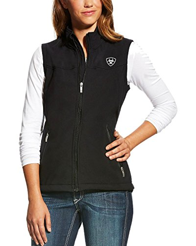Team Softshell Ariat Womens Vest New Jacket Black nqFFI5