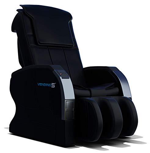 Vending 5 Massage Chair by Medical Breakthrough | for Businesses (Black)