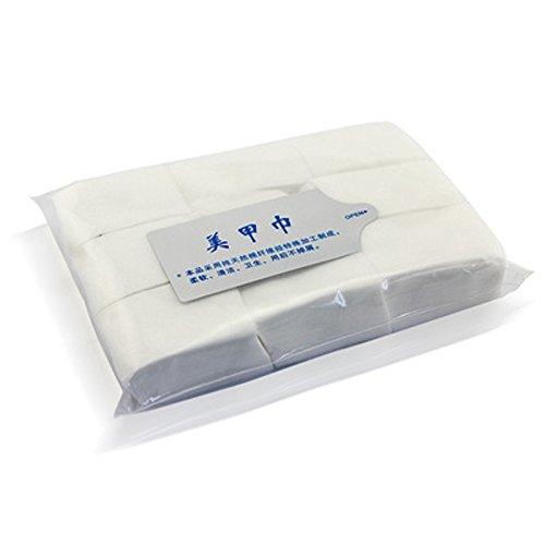 EQLEF® 900pcs/Unidades Herramientas de uñas uñas Toallitas Quitaesmalte Uñas Arte Tips Manicura limpia toallitas de papel algodón almohadillas de pelusas: ...
