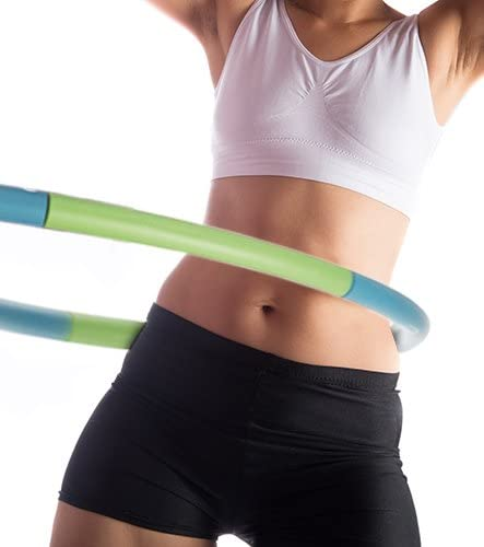 Empower Weighted Hula Hoop for Women, Weighted Fitness Hoop for Exercise, Cardio, Dance, Fat Burning,