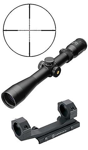 Leupold VXR Patrol 3-9x40 (30mm Tube) TMR Reticle w/ illuminated Center Dot Rifle Scope w/ Mark 2 IMS Optics Mount Fits AR S&W M&P Hk416 Hk417 Ruger SR22 SR556 AR556 Mossberg MMR (Ruger Mark Ii Red Dot)
