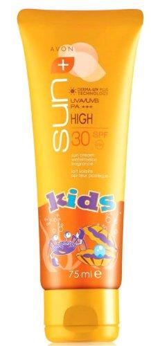 1a AVON 161901 Kinder Sonnenschutz SUN+ KIDS Sonnencreme LSF30 --- 75ml