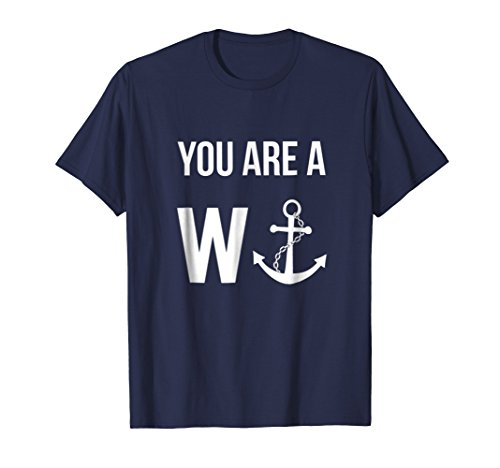 Funny British Humor You Are A Wanker Tshirt for Men, ()