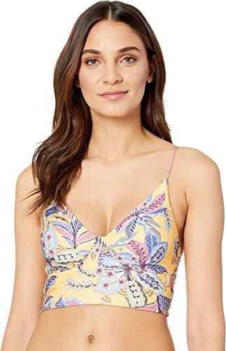 Becca by Rebecca Virtue Women's Tapestry Bloom Classic Bikini Top Multi L