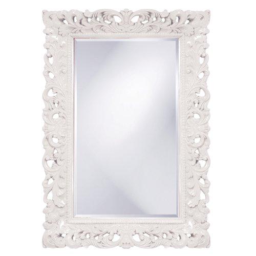 Barcelona Framed - Howard Elliott 2020W Barcelona Mirror, Glossy White
