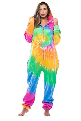 #followme Adult Onesie Pajamas Jumpsuit 6439-NEW-MULTI-S]()