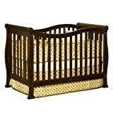 Athena Nadia 3-in-1 Convertible Wood Crib (Espresso), Baby & Kids Zone