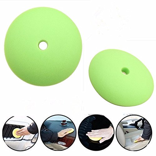 Car Cleaning Equipments - 6inch Car Polishing Sponge Buffing Foam Pad Wheel Scratch Removal Cleaning Polisher - Spume Shining Inkpad Froth Tablet Suds Effervesce Embellish Fizz Launchpad - 1PCs