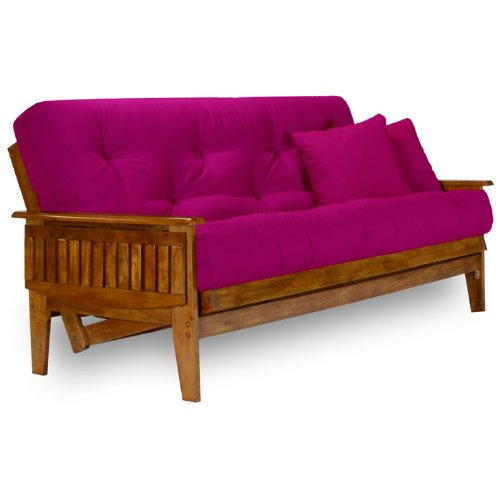 Nirvana Futons Eastridge Futon Frame - Full Size, Solid Hardwood by Nirvana Futons