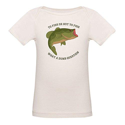 Cotton Fish Tee Organic - CafePress - to Fish Not to Fish - Organic Cotton Baby T-Shirt