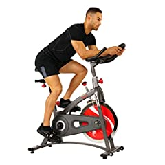 The new standard in home fitness! Sunny Health & Fitness SF-B1423 Belt drive indoor cycling bike offers all of the necessities for an amazing cycling workout along with any and everything all at-home fitness enthusiasts could wish for! Be...