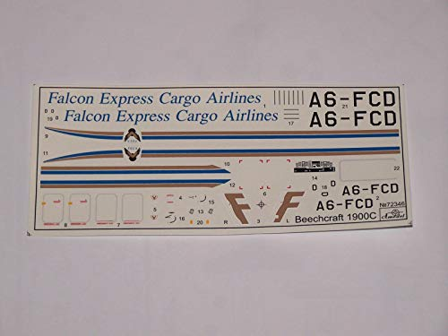 Amodel 72346-1/72 Beechcraft 1900C 'Falcon Express Cargo Airlines', Model kit 3