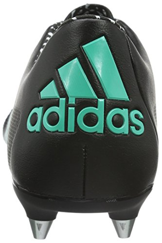 Adidas Mannen X 1.15 Sg Leren Voetbalschoenen Zwart (kern Zwart / Shock Mint / Ftwr Wit)