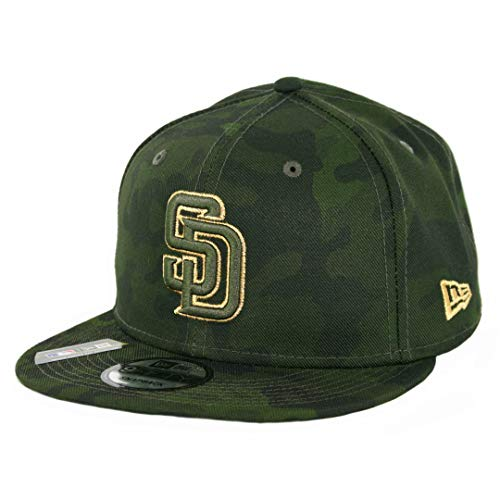 - New Era 950 San Diego Padres Armed Forces Memorial Day Snapback Hat (CAM) Cap