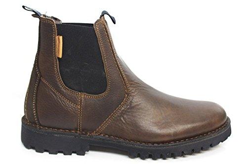 Wrangler - Botas de Piel para hombre Marrón marrón 16.00 Marrón - marrón