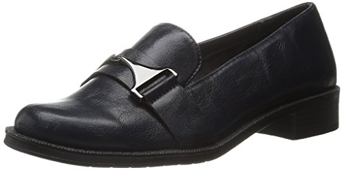 Aerosoles A2 by Women's Sleigh Ride Slip-On Loafer Navy