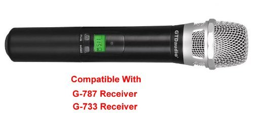 GTD Audio Hand held Microphone Transmitter Compatiable With Receiver of G-787, G-733 Series by GTD Audio