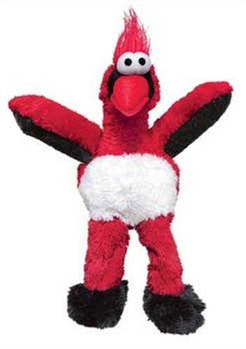 KONG Wild Knots Cardinal Dog Toy Medium/Large, My Pet Supplies