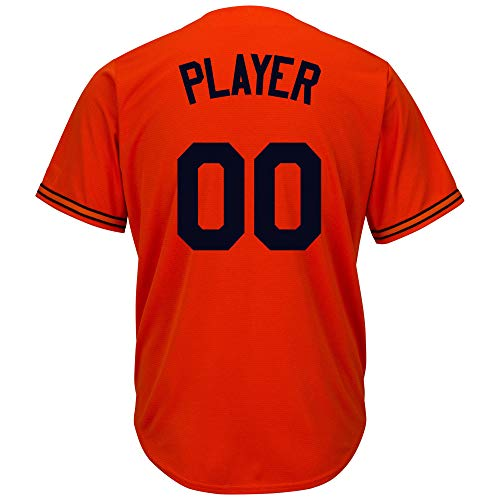 Majestic Mens/Youth Baltimore Orioles Custom Customized Your Own Name and Number Unique Replica ()