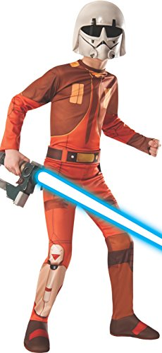 [Rubies Star Wars Rebels Ezra Costume, Child Small] (Star Wars Dress Up Costumes)