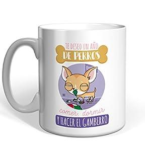 Chihuahua Taza Missborderlike Dijiste que para las vacaciones solo te llevar/'as lo importante.