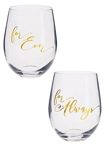 Gn Netcom Pc - Forever For Always Stemless Wine Glasses (2 pcs)