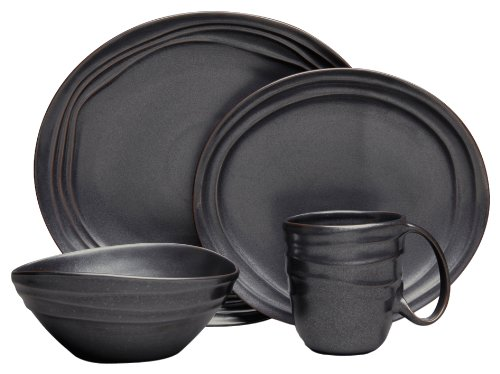Nambe Earth Metallic Sunset Place Setting, 4-Piece