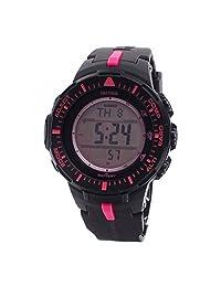 Casio Mens Pro Trek TWIN SENSOR COMPASS Analog-Digital Dress Solar Watch (Imported) PRG-300-1A4