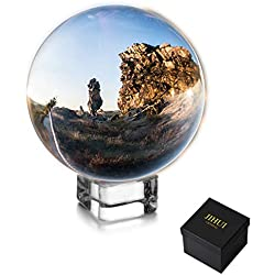 """Crystal Ball Sphere Photography Prop 70mm (2.75"""") Clear"""