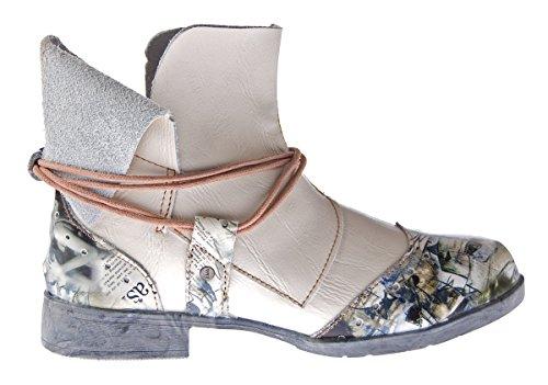 Damer Komfortabel Læder Ankelstøvler Tma 5161 Støvler Sort Grøn Hvid Rød Ankel Støvler Sko Hvid Creme mZ39oI