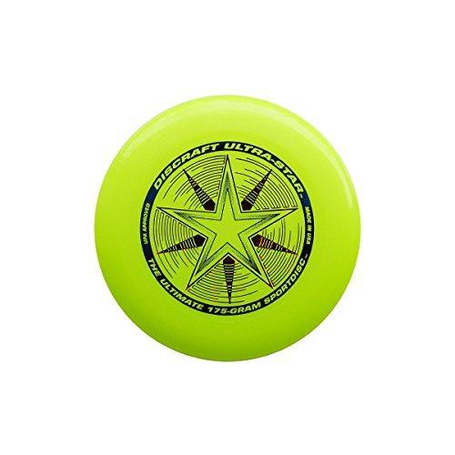 Discraft Ultra-Star 175g Ultimate Sportdisc Yellow (10 Pack)