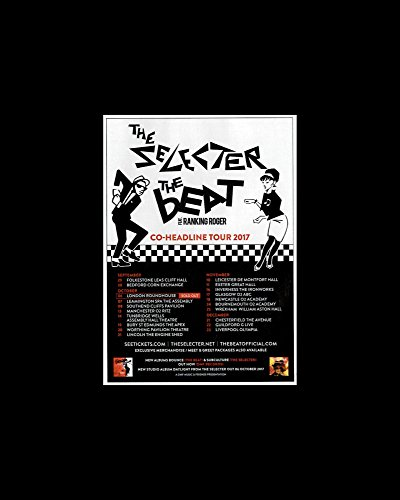 Stick It On Your Wall The Selecter - The Beat Album - UK Tour 2017 Mini Poster - 25.4x20.3cm
