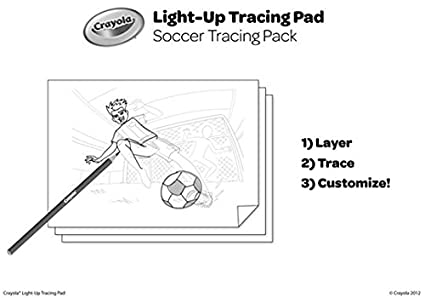 Amazon.com: Crayola; Light-up Tracing Pad,Art Tool; Bright LEDs ...