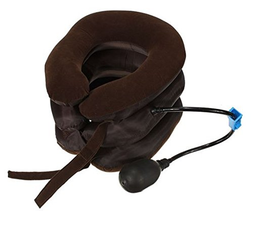 Air Cervical Neck Traction Soft Brace for Headache Head Back Shoulder Neck Pain by STCorps7