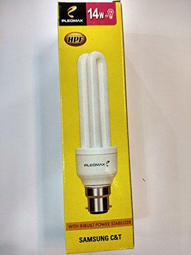 Rosh Pleomax 14watt B22 CFL Warm White (Yellow)