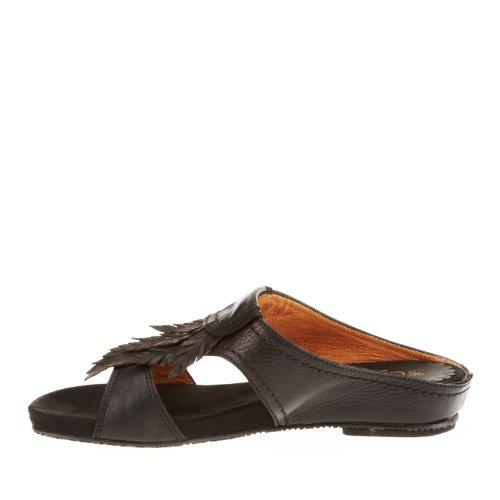 Antia Damesslippers Dames Sandalen Zwart