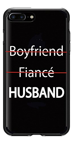 Shark Girlfriend/Fiancee/Wife&Boyfriend/Fiance/Husband Matching Couple Cases for Husband: iPhone 7/iPhone 8