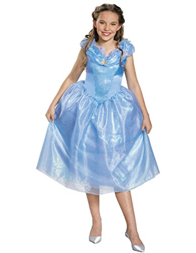 Cinderella Movie Tween Costume, Medium (7-8)