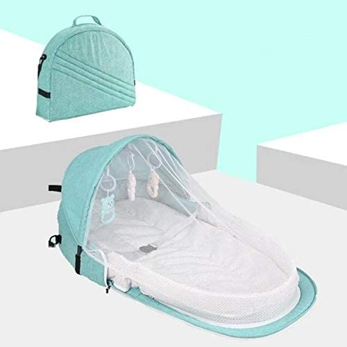 Send Free Toy A1 Portable Bassinet For Baby Bed Travel Foldable Sun Protection Mosquito Net Breathable Infant Sleeping Basket