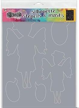 Ranger DYS55549 Dyan Reaveleys Dylusions Stencils 9X12-Emmi