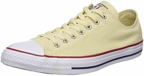 Converse Unisex Chuck Taylor All Star Low Top Natural Sneakers - 13.5 B(M) US Women / 11.5 D(M) US Men