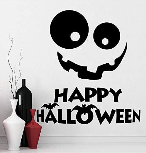 Wuyyii Tatuajes De Pared Vinilo De Halloween Etiqueta De La Pared ...