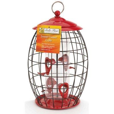 Belle Fleur Sweet Tweet Café Bird Feeder by Hiatt Manufacturing