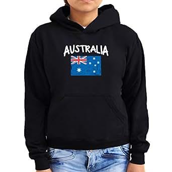 Australia flag Women Hoodie