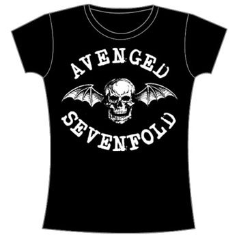 Avenged Sevenfold - Deathbat Juniors Babydoll T-Shirt, SMALL
